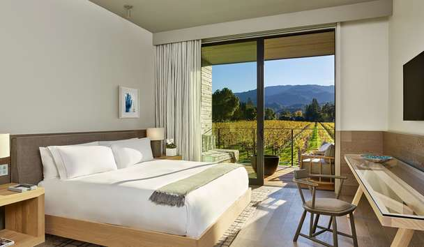 Las Alcobas, A Luxury Collection Hotel, Napa Valley: Vineyard View King