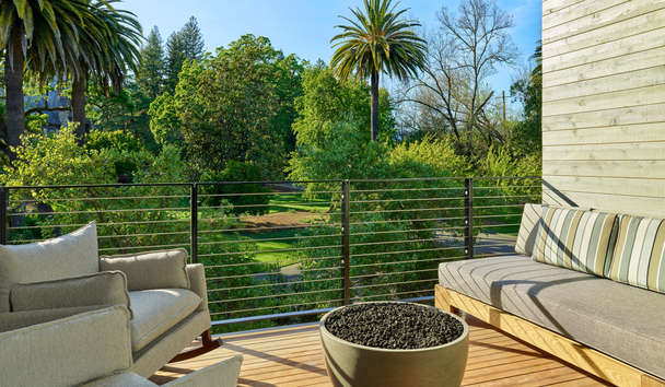 Las Alcobas, A Luxury Collection Hotel, Napa Valley: Room Patio