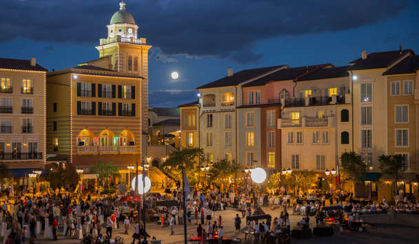 Loews Portofino Bay Hotel at Universal Orlando: Harbour Nights