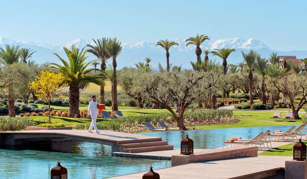Fairmont Royal Palm Marrakech: Swimming Pool