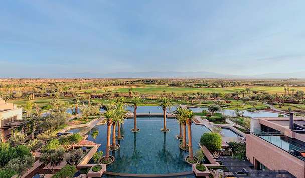 Fairmont Royal Palm Marrakech: Resort View