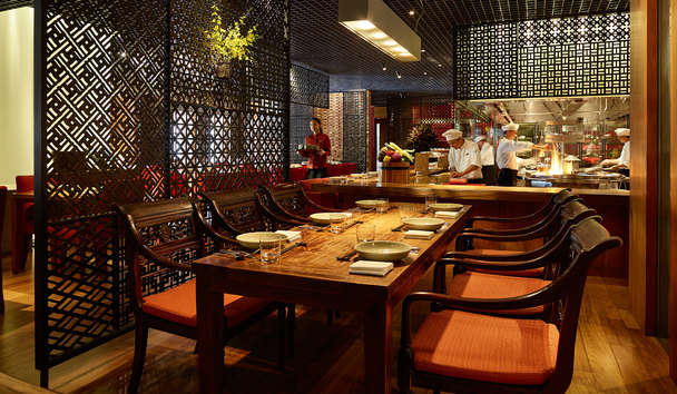Park Hyatt Saigon: Square One Restaurant