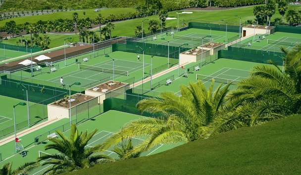 The Ritz Carlton, Abama Tennis Courts Sports Academy
