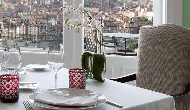 The Yeatman Porto, Stunning Restaurant Views