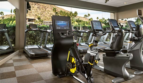 The Canyon Suites at The Phoenician: Fitness Centre