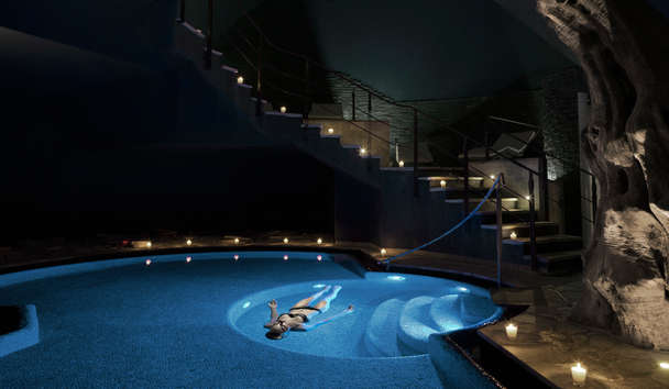 Lefay Resort & Spa Lago Di Garda: Saltwater Lake Swimming Pool