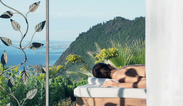 Lefay Resort & Spa Lago Di Garda: Spa Outdoor Treatment Gazebo