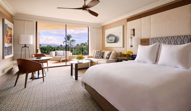 Four Seasons Resort Maui at Wailea: Club Ocean View Prime Room