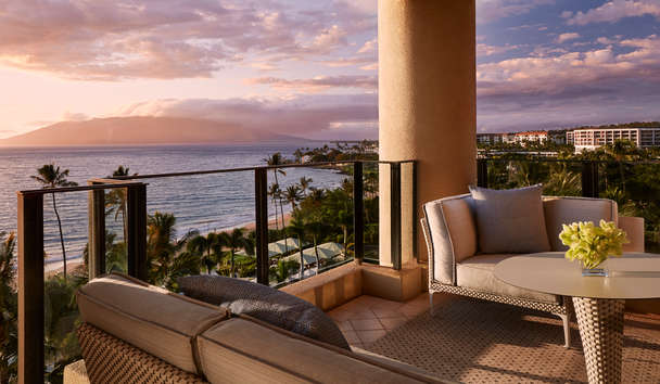 Four Seasons Resort Maui at Wailea: Ocean Front Prime Suite Terrace