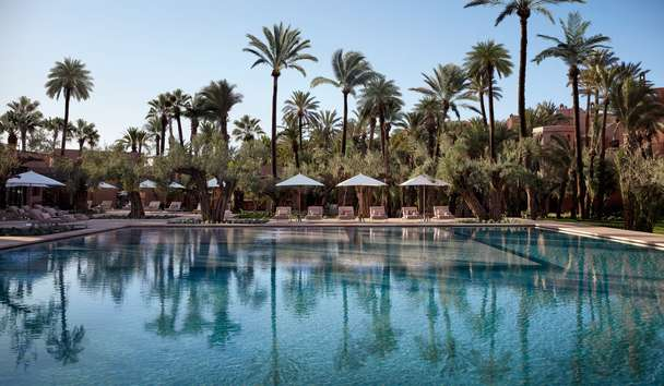 Royal Mansour Marrakech: Le Jardin Swimming Pool