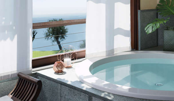 Lefay Resort & Spa Lago Di Garda: Executive Suite Jacuzzi