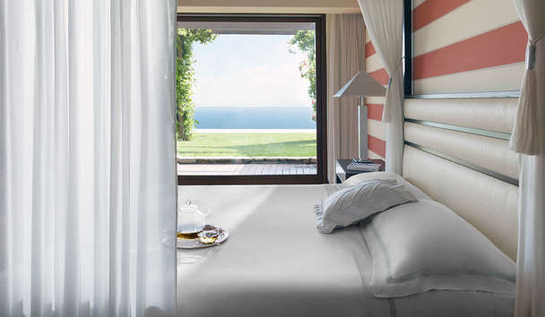 Lefay Resort & Spa Lago Di Garda: Royal Suite Master Bedroom