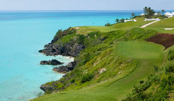 Cambridge Beaches Resort & Spa: View from golf course