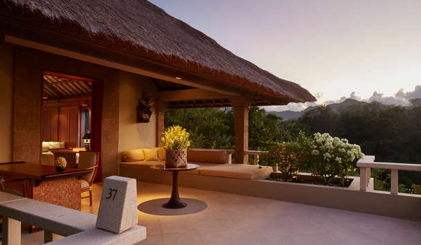Amankila: Ocean Suite Terrace