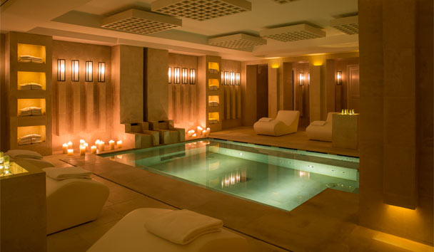 Borgo Egnazia: Spa with indoor swimming pool