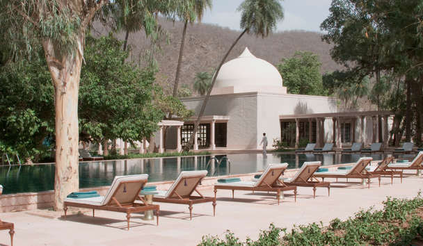 Amanbagh: Pool Loungers