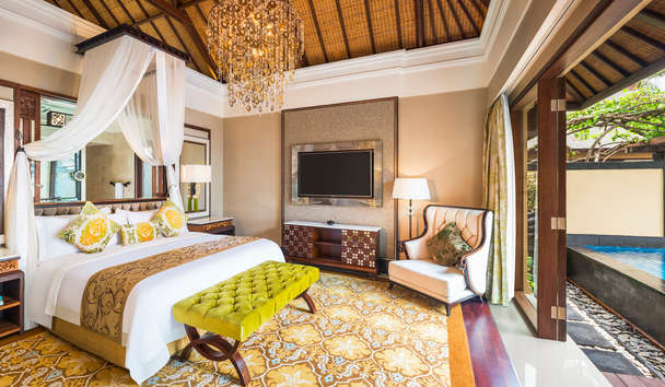 The St. Regis Bali Resort: The Strand Villa Bedroom