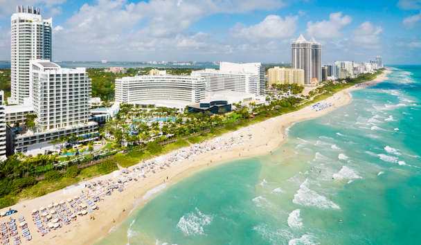Fontainebleau Miami Beach: Aerial View