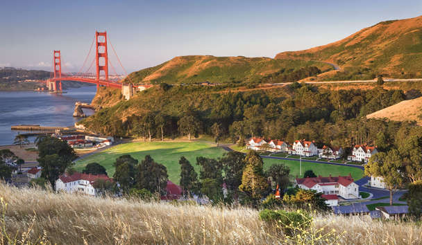 Cavallo Point Lodge: Aerial View