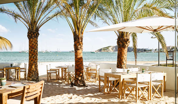 Nobu Hotel Ibiza Bay: Chambao View Beach Dining