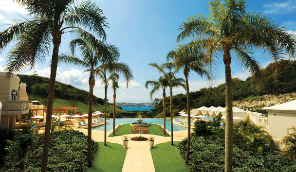 Rosewood Bermuda: The Palm Court Swimming Pool