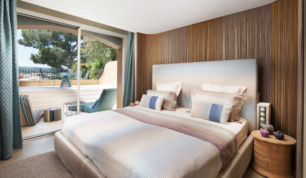 Byblos Saint-Tropez: Missoni Suite Bedroom