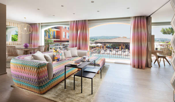 Byblos Saint-Tropez: Missoni Suite Living Room