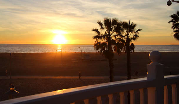 Shutters On The Beach, Santa Monica: Sunset
