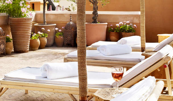 L'Hotel Marrakech: Roof Terrace