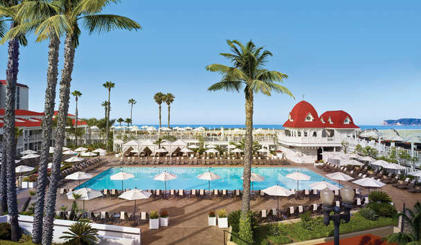 Hotel Del Coronado: Main swimming pool