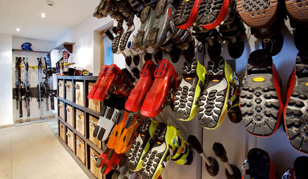 The Lodge at Verbier: Boot Room