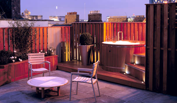 The Merrion: Penthouse Terrace