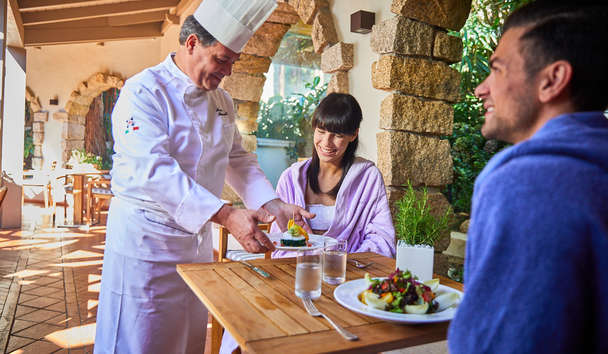 Forte Village - Villa del Parco & SPA: Healthy Dining
