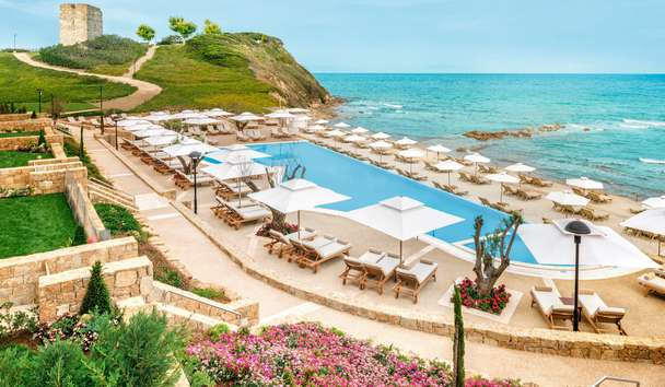Sani Beach: Swimming Pool