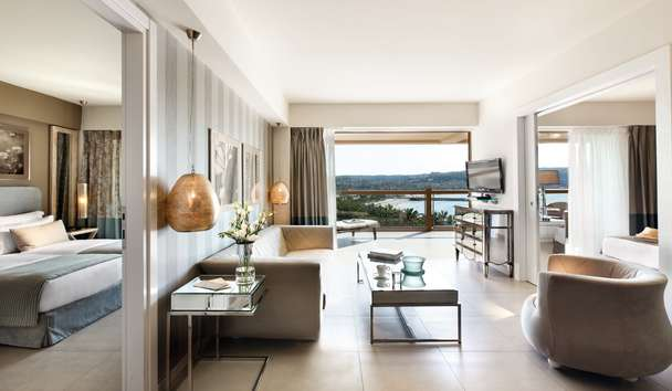 Sani Beach: Two Bedroom Family Suite