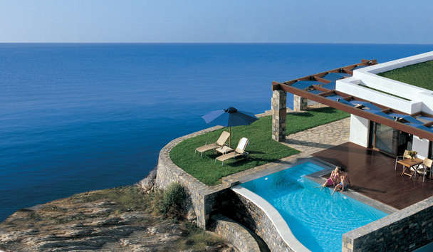 Grand Resort Lagonissi: Belvedere Suite with Private Pool