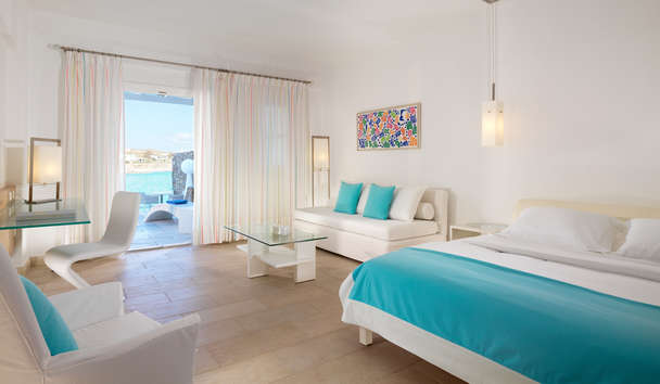 Petasos Beach Resort & Spa: Spa Suite