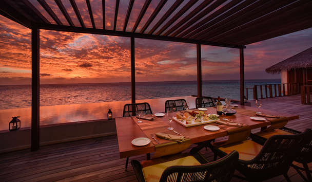 OZEN at Maadhoo: Dining View