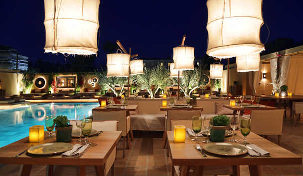 The Margi: Malabar Restaurant Poolside