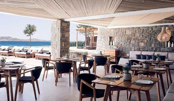 Bill & Coo Coast Suites: Taverna