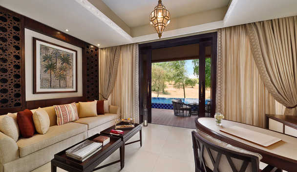 The Ritz-Carlton Ras Al Khaimah, Al Wadi Desert: Living Area