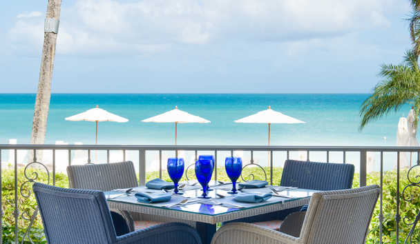 Blue Waters Resort & Spa: Palm Restaurant