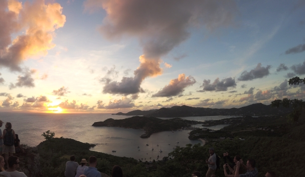 Sunset At Shirley Heights, Antigua