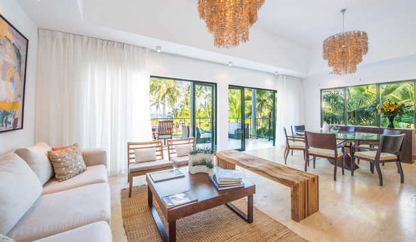 Sublime Samana: Three Bedroom Casita Living Room