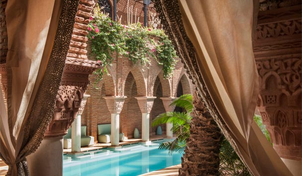 La Sultana Marrakech: Swimming pool