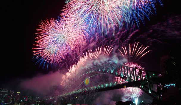 Christmas in Australia: New Year's Eve, Sydney