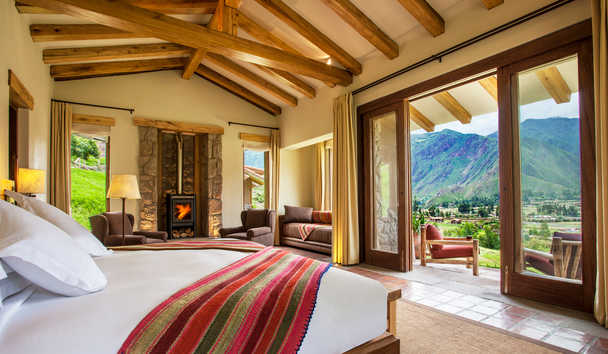 Inkaterra Hacienda Urubamba: Bedroom