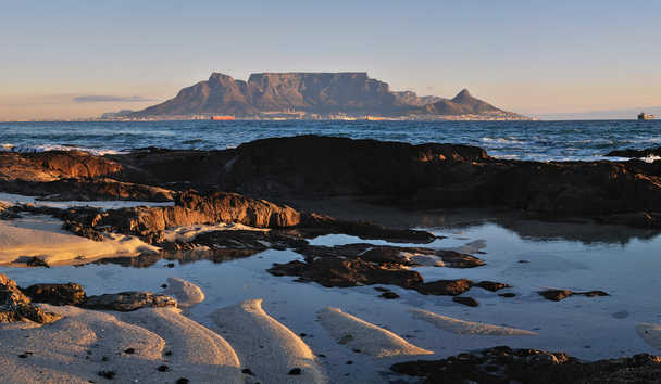 View of Table Mountain from Twelve Apostles Hotel & Spa