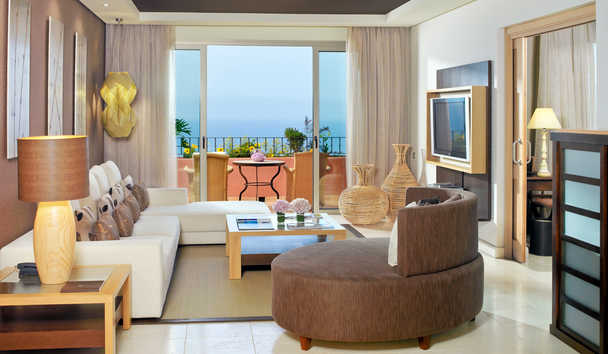 The Ritz-Carlton, Abama: One Bedroom Suite Living Room
