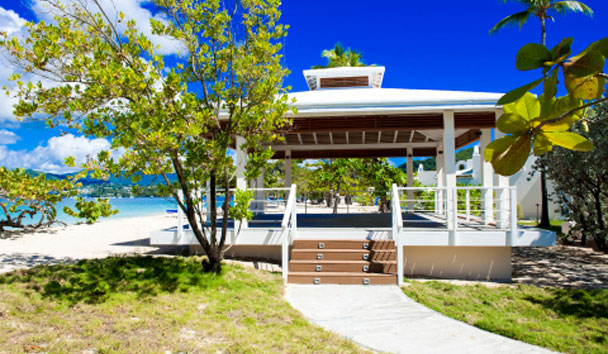 Spice Island Beach Resort: Yoga Pavilion